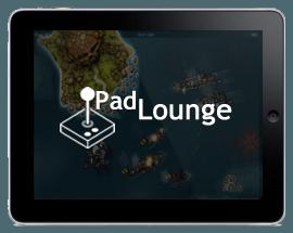 iPad Lounge – Crimson, Steam Pirates