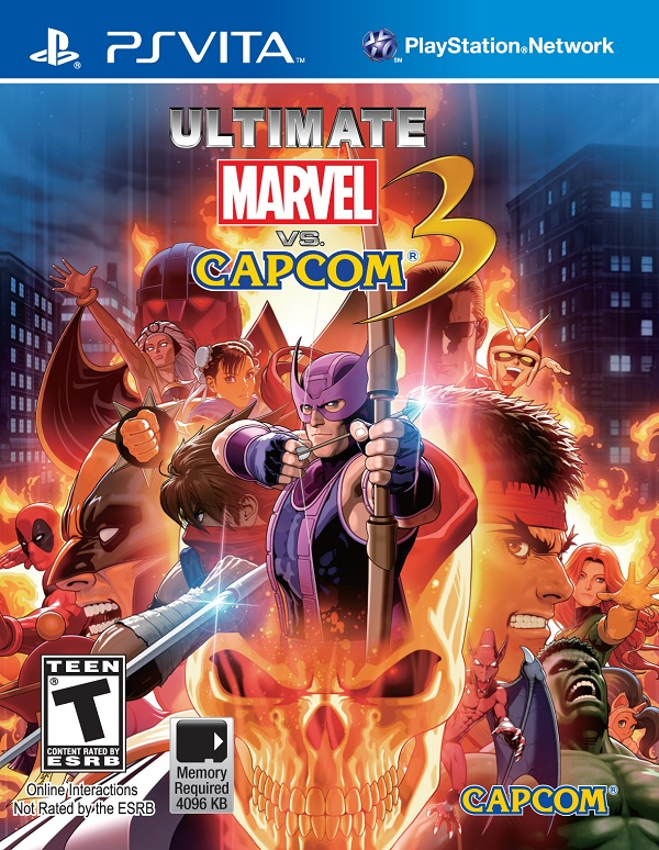 Quick Review: Ultimate Marvel vs. Capcom 3 (Vita)