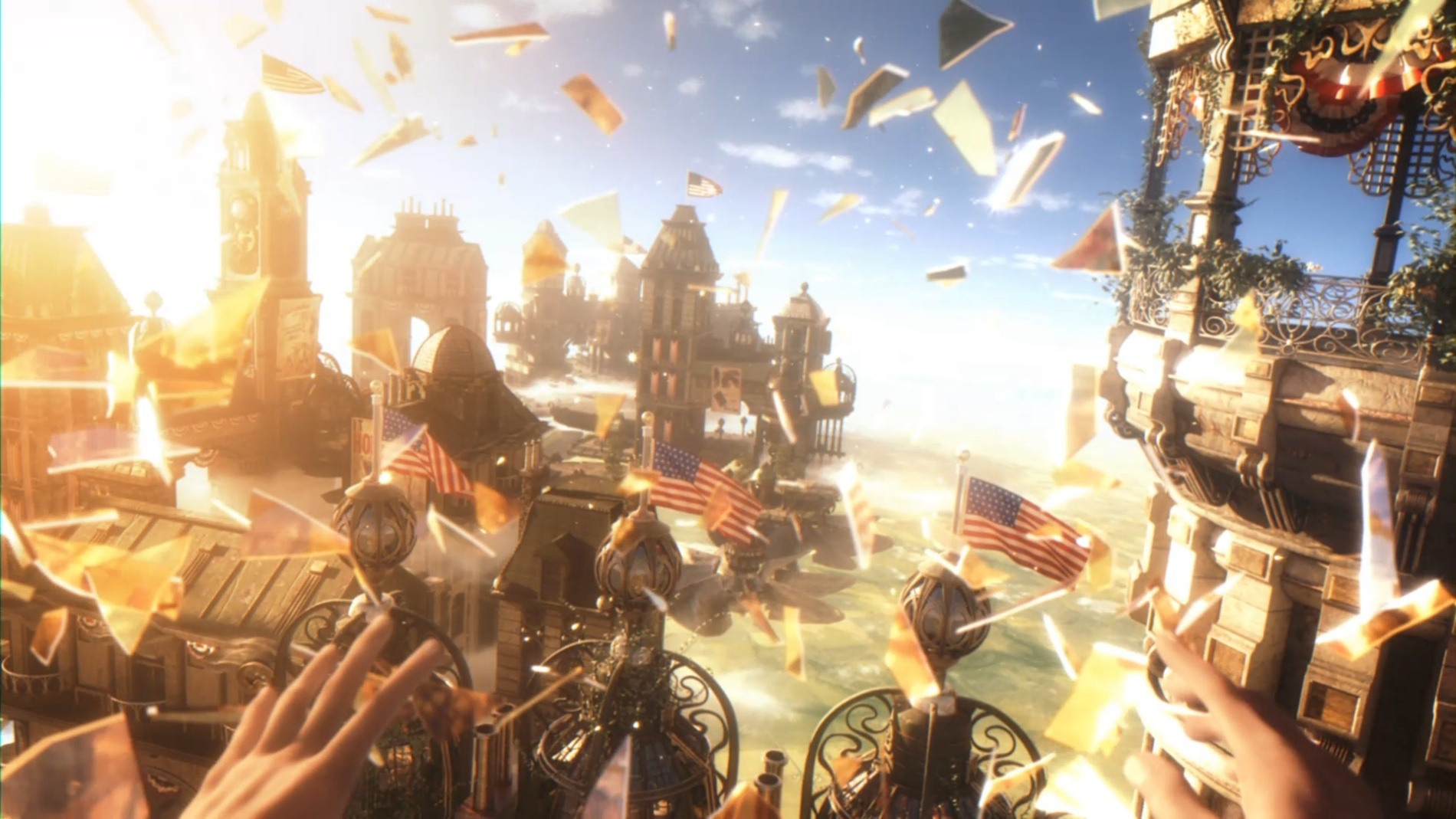 Bioshock Infinite screen