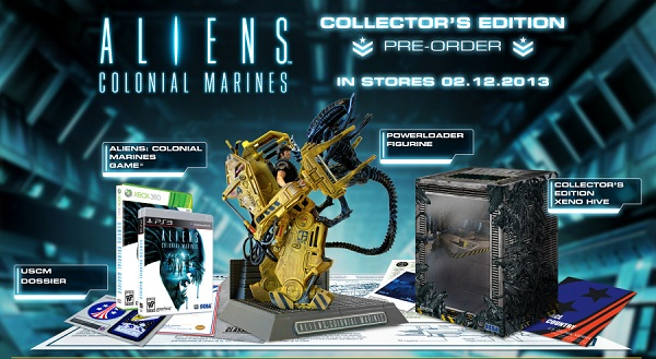 Aliens: Colonial Marines Collector's Edition, GameStop pre-order bonus made official