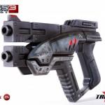 Mass Effect Predator Pistol Replica Looks Really Awesome