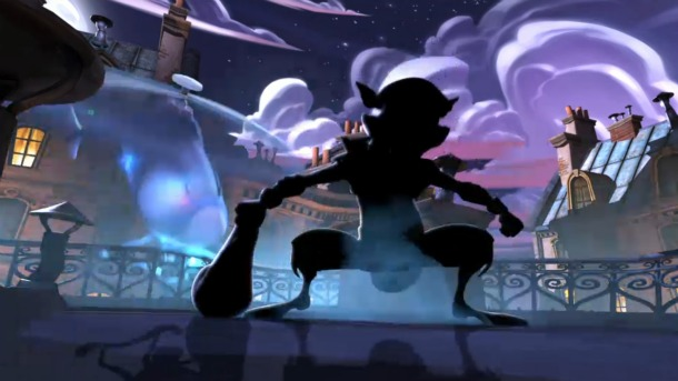Sly Cooper Sneaking To The Vita