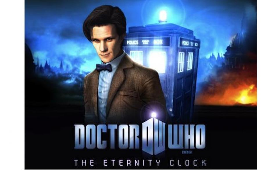Doctor Who The Eternity Clock 1