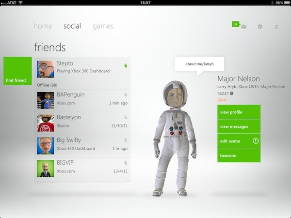 My Xbox Live app launches for Android, iOS version gets updated