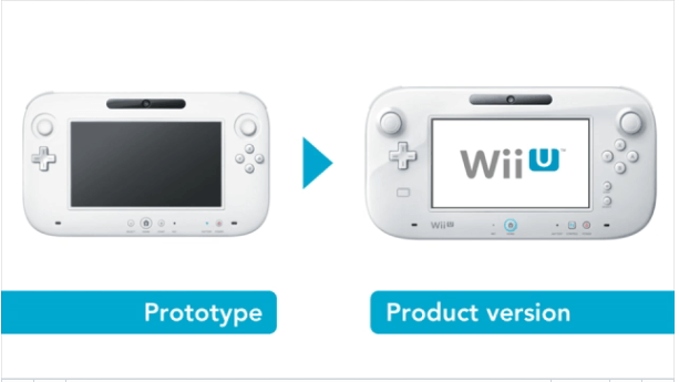 Wii U controller dubbed the Wii U GamePad