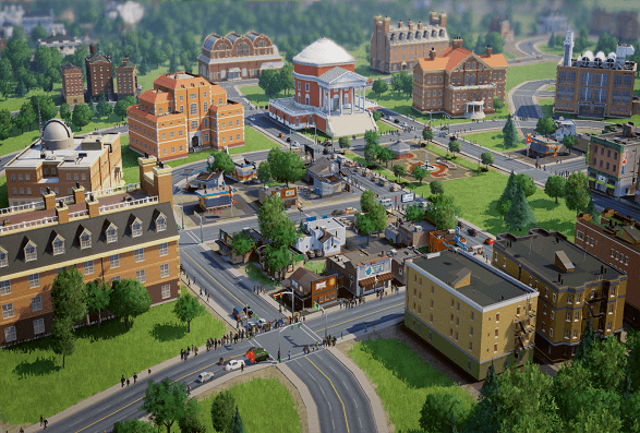 SimCity Redefines Multiplayer