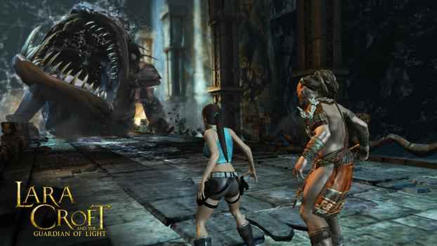 Lara Croft and the Guardian of Light headed to Google Chrome