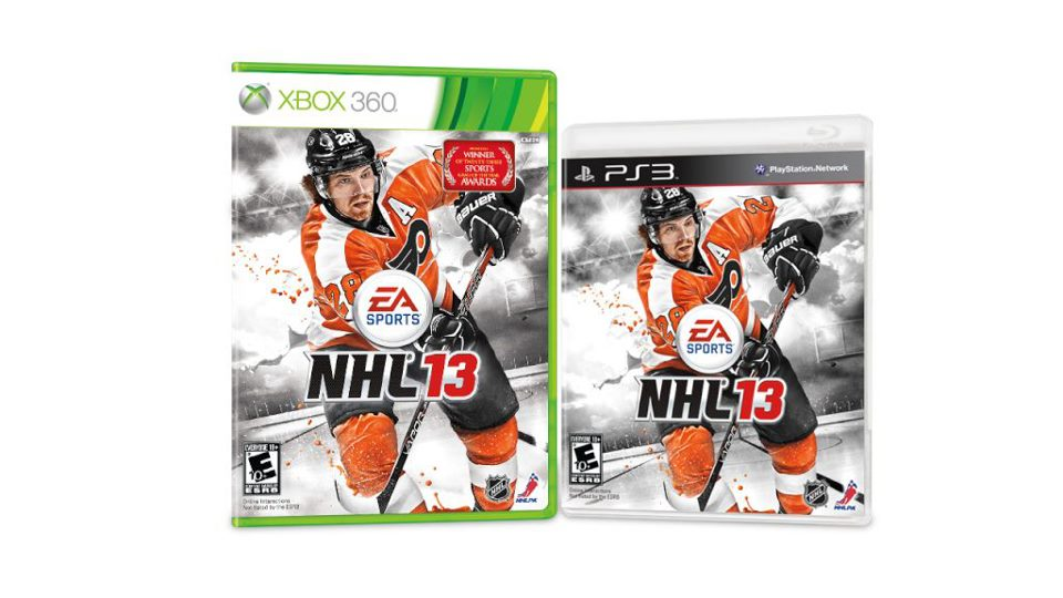 Philadelphia Flyers' Claude Giroux Fan-Selected to be Cover Boy on NHL 13