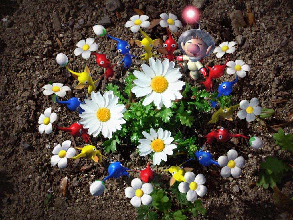 Pikmin 3 Shown Off For The Wii U