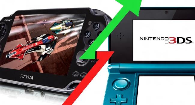 Vita Enters 3rd Place In This Week's Top Sales In Japan