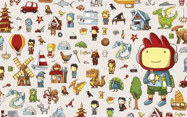 Scribblenauts Unlimited Announced for the Wii U