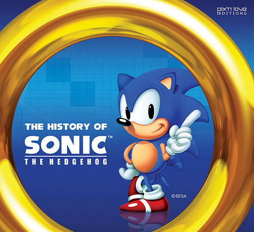 Sega to Release 300 page History of Sonic Book
