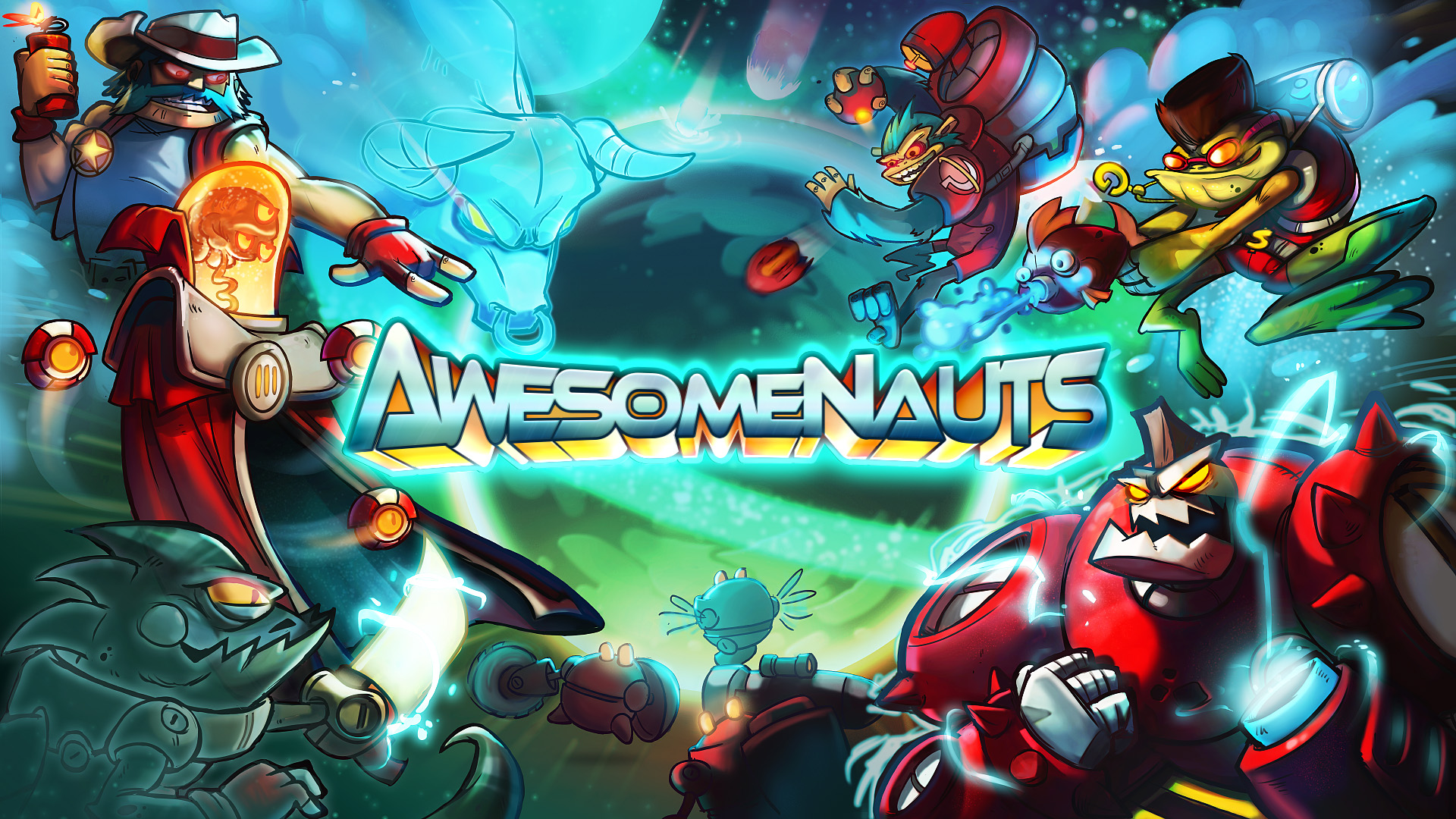 Awesomenauts Gets a Release Date for PC