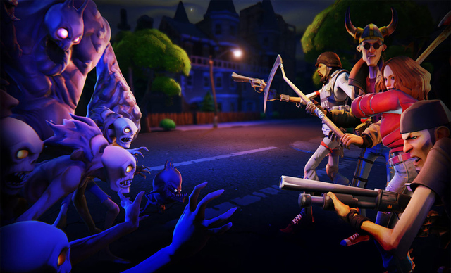 Epic's Fortnite Will Be the First Unreal Engine 4 Game