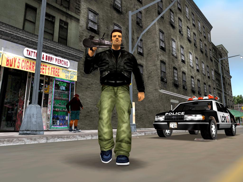 GTA III Comes to the PSN