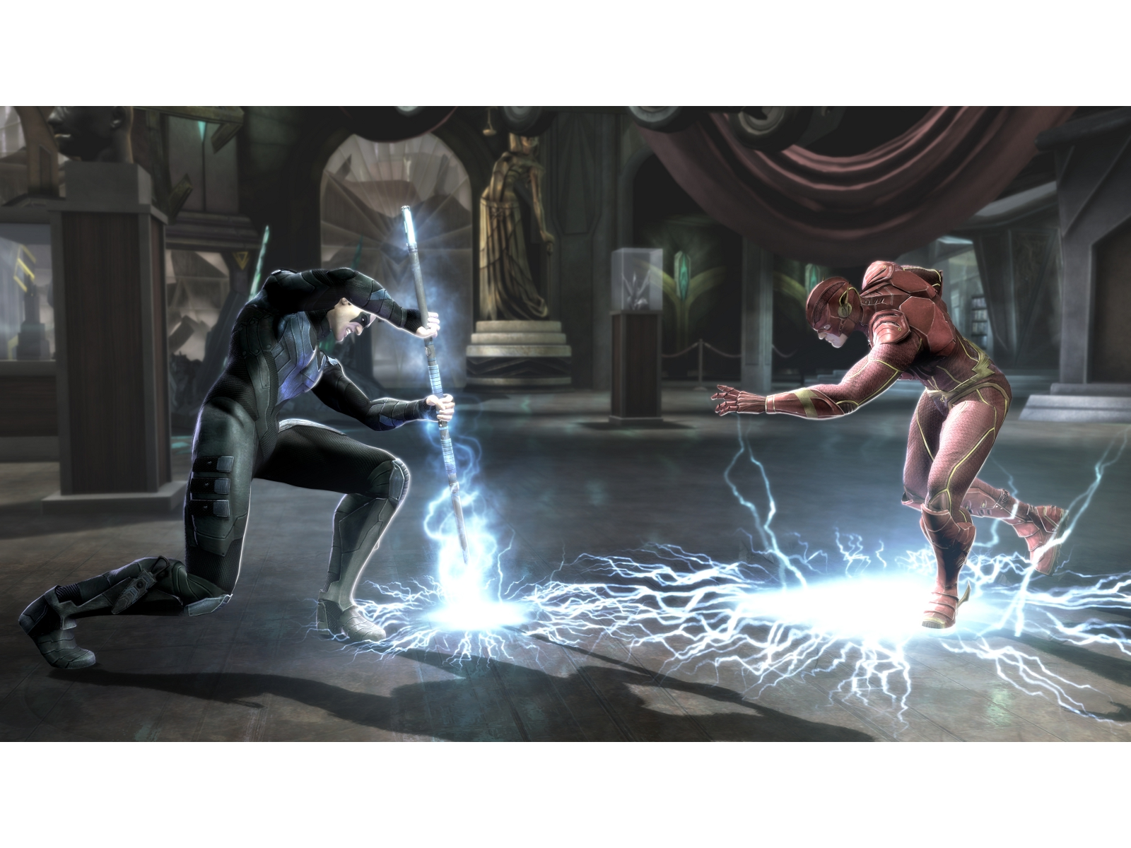 New Screenshots For Injustice: Gods Among Us