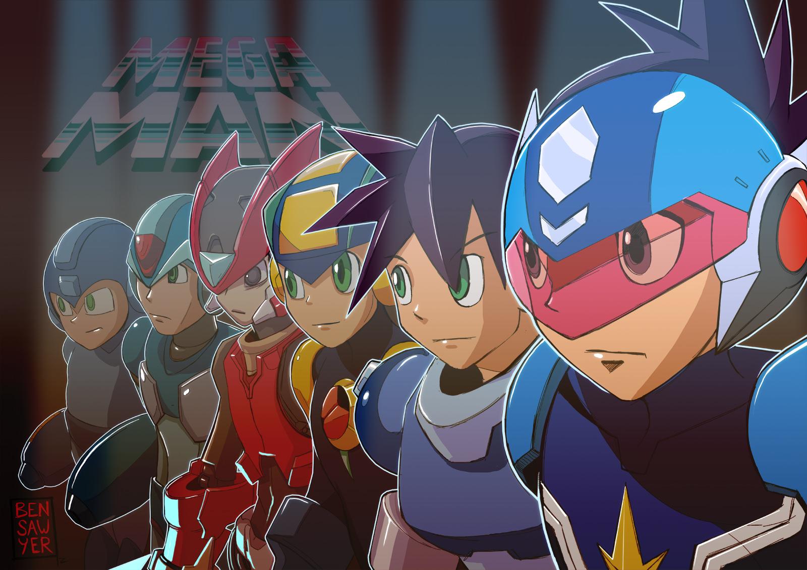 Leviathyn Debate:  Mega Man Classic vs. Mega Man X
