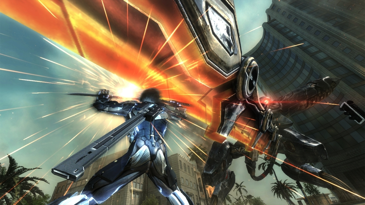 A Look At The Combat of Metal Gear Rising: Revengeance