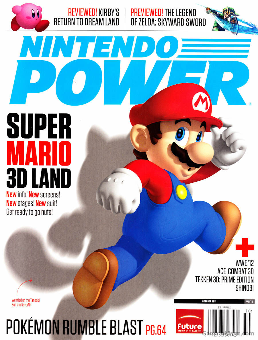 Nintendo-Power-Issue-272-Cover