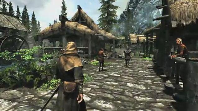 Skyrim-Village