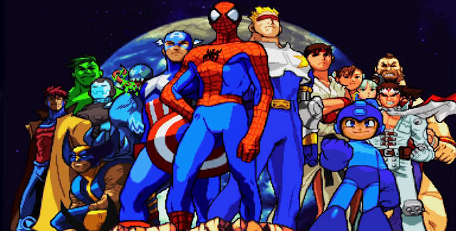 Marvel vs Capcom Origins Releases Soon on XBLA and PSN