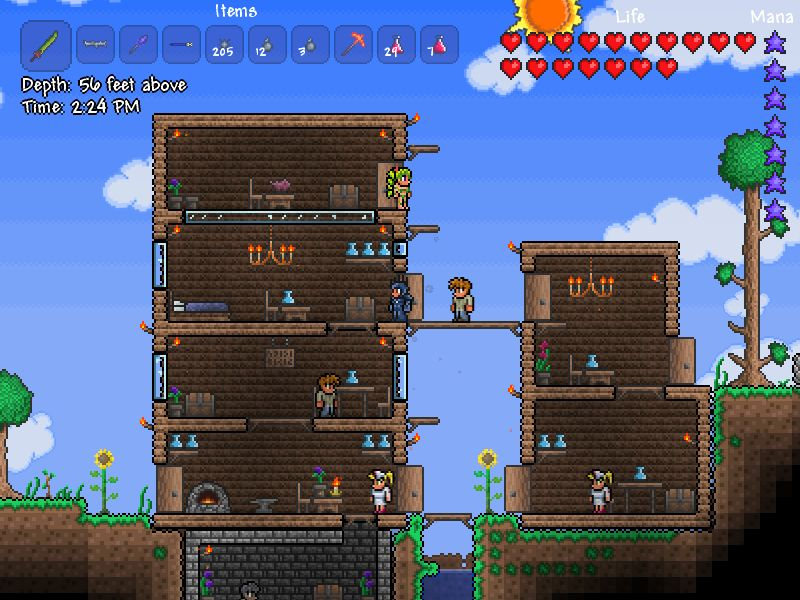 Terraria Coming to XBLA And PSN