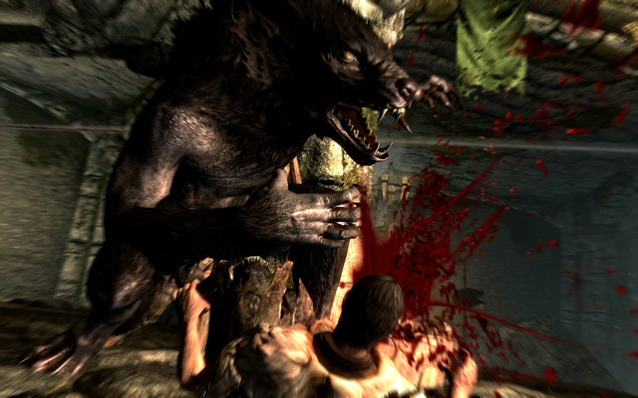 Skyrim supports the Vampire/Werewolf community