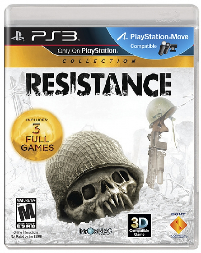 Sony and Insomniac announce Resistance Collection