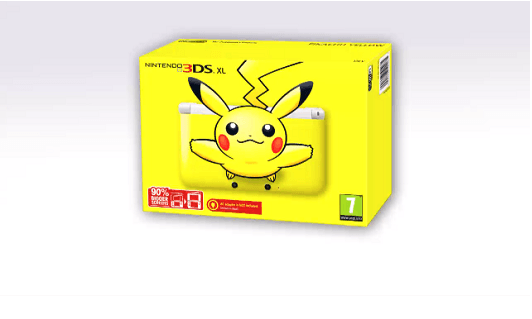 Pikachu 3DS XL headed to Europe, cuteness meter breaks