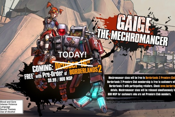 Breaking Down The Mechromancer Class In Borderlands 2