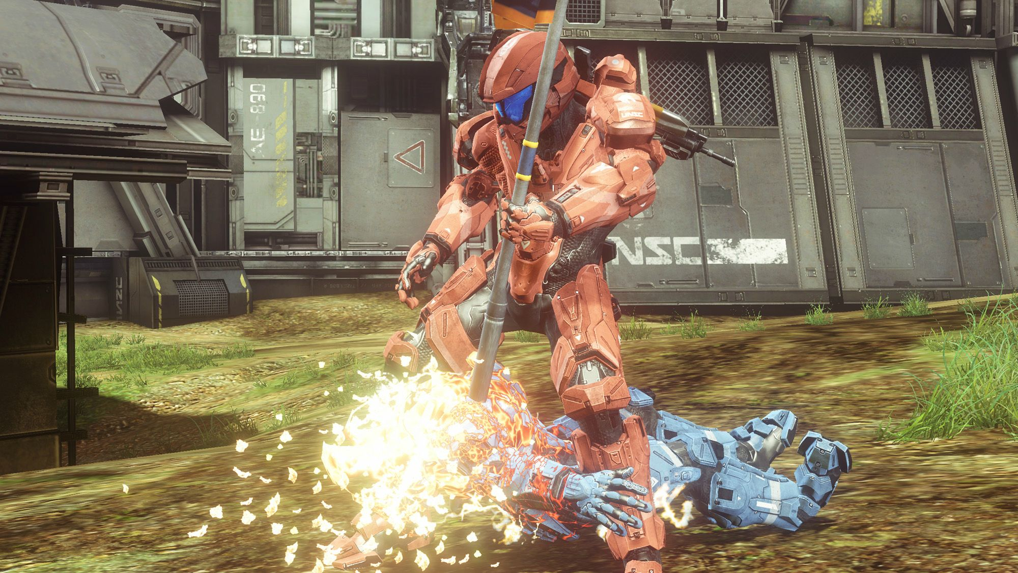 One on One: Samus vs. Master Chief.