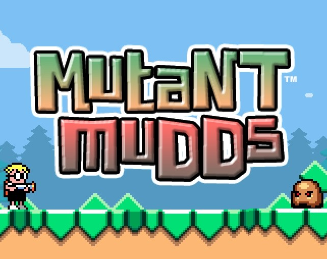 Mutant Mudds Deluxe for the Wii U in 2013
