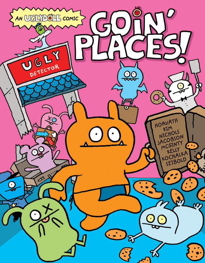 VIZ Media Announces UGLYDOLL Graphic Novels
