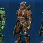Here's A Picture Showing Off All Armors From Halo 4