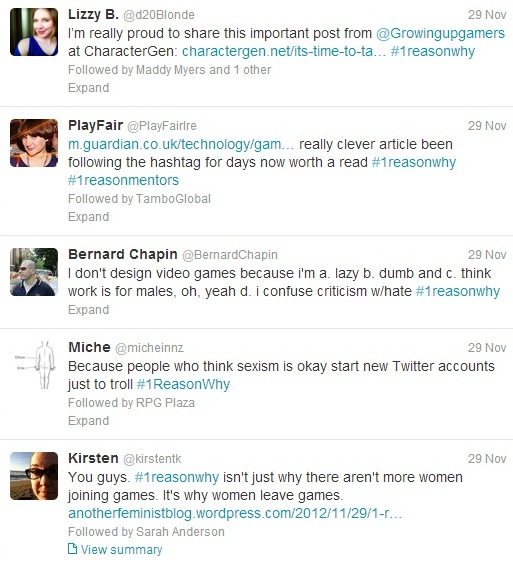 2012: The Year Sexism Came to the Forefront in the Games Industry