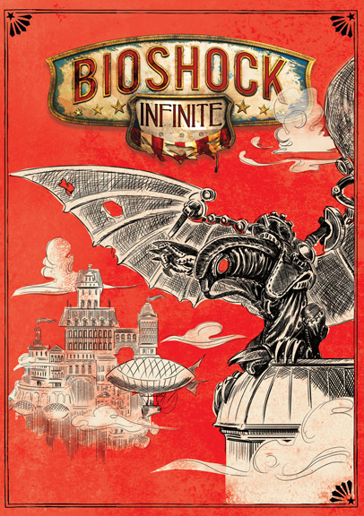 Bioshock Infinite's Reversible Cover Revealed