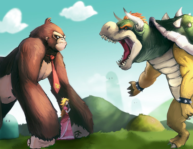 One on One: Donkey Kong vs. Bowser