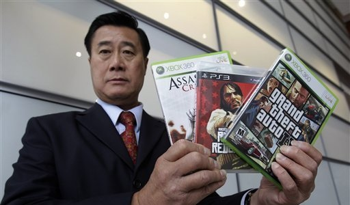 Leland Yee Video Games