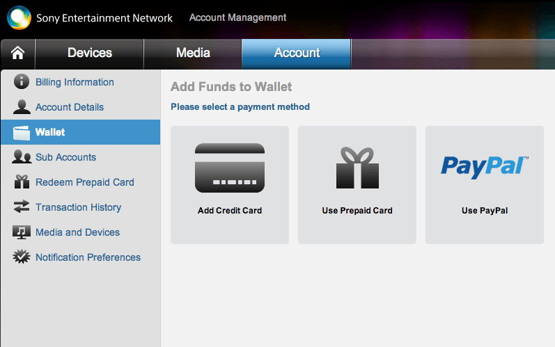 PayPal coming to North American PSN Accounts