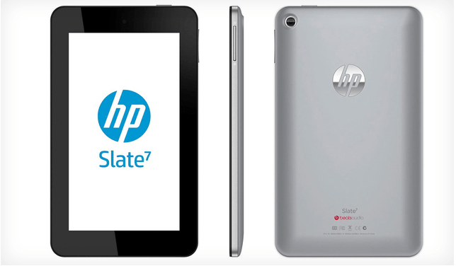 HP Officially Announces Slate 7, Arrives In April