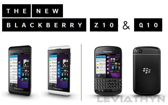 The New BlackBerry Z10 & Q10