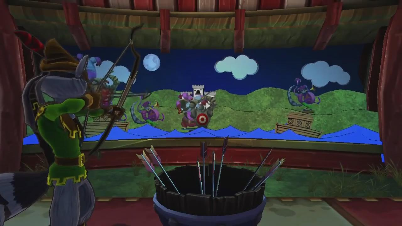 Sly Cooper Car Race