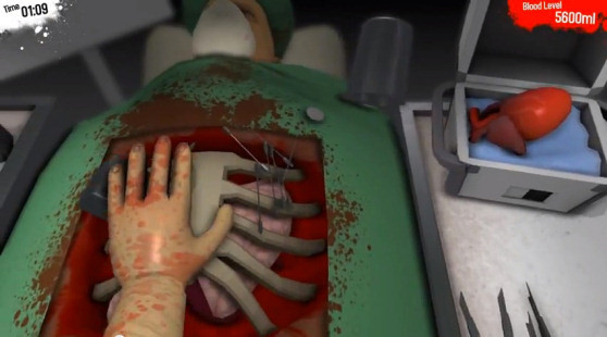 Surgeon Simulator 2013: Because Even Heart Transplants Can Be Hilarious