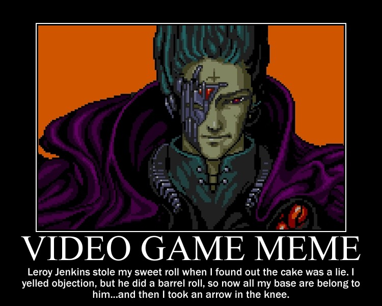 The Best Video Game Memes For Every Current Console
