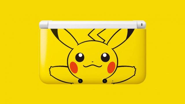Pikachu 3DS XL Coming to North America