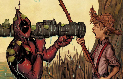 Deadpool Killustrated: The Merc Found a Way to Attack Literature