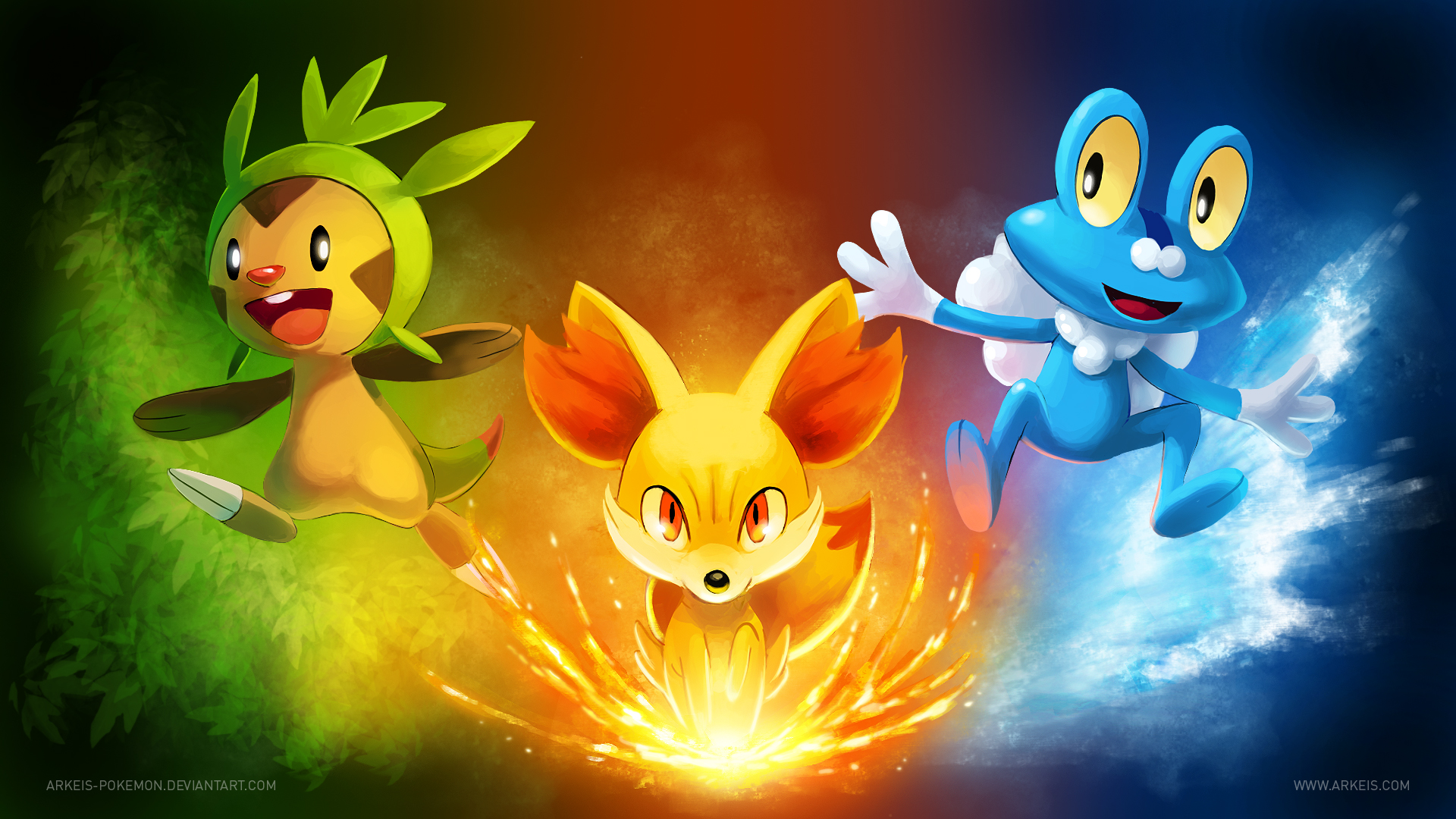 Pokemon X And Y Final Evolution Pictures for Starters