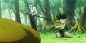 Hunter X Hunter episode 76: Young Gon and Kite