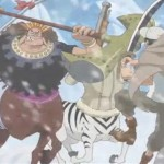 One Piece episode 591: the G-5 marines are ambushed