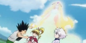 The Archangel heals Gon